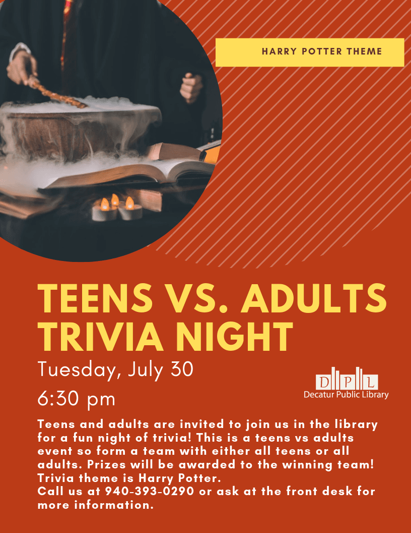 Harry Potter Teen vs Adults Trivia