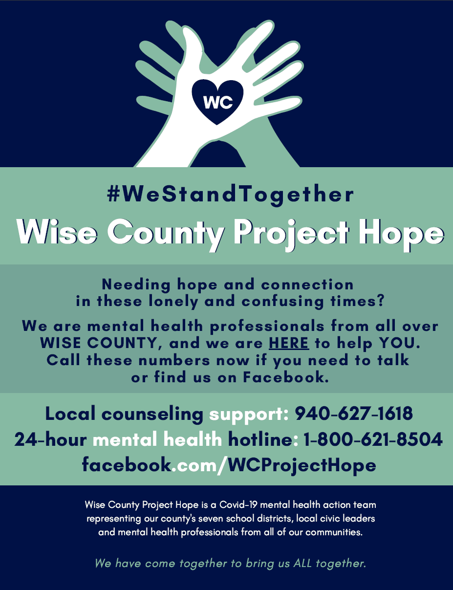 Wis County Project Hope Opens in new window
